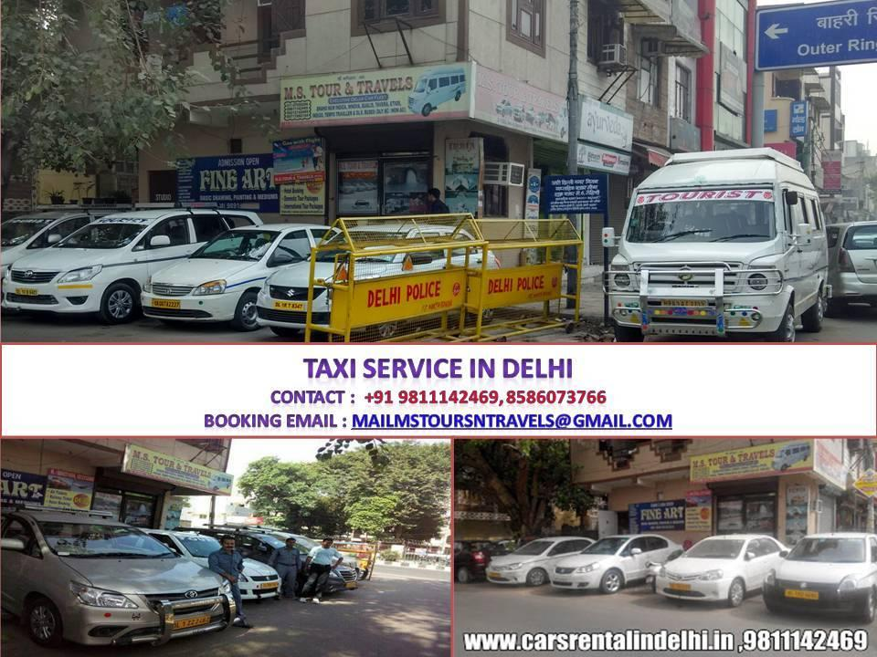 Taxi Booking Service Provider in Rohini